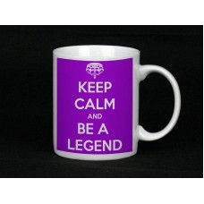 Keep And Be A Legend, Ceramic Mug